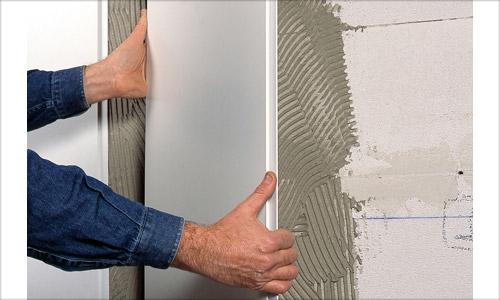 Как закрепить панели на стене