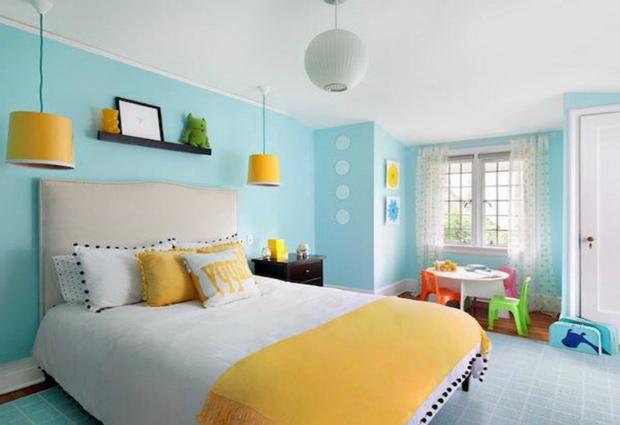 Цвет стен в доме может влиять на здоровье человека
