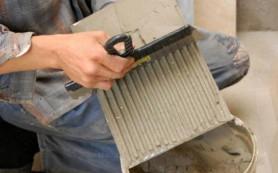 Как разводить и наносить плиточный клей