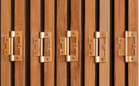 Двери-гармошки сэкономят пространство в квартире