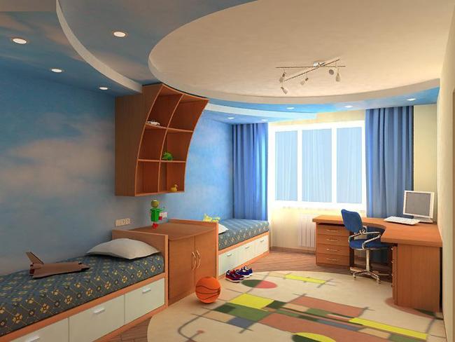 Дизайн и выбор оптимального расположения детской комнаты