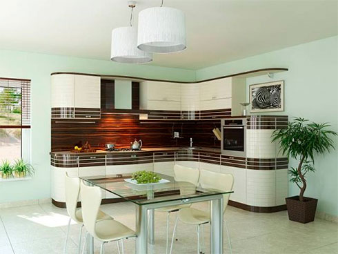 Мебель для кухни. Стили и дизайн