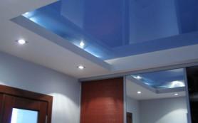 Чистим натяжной потолок