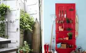 Восемь способов использовать старую дверь