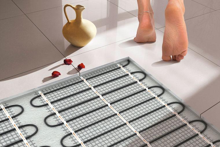 Утепление пола в квартире с помощью нагревательного кабеля