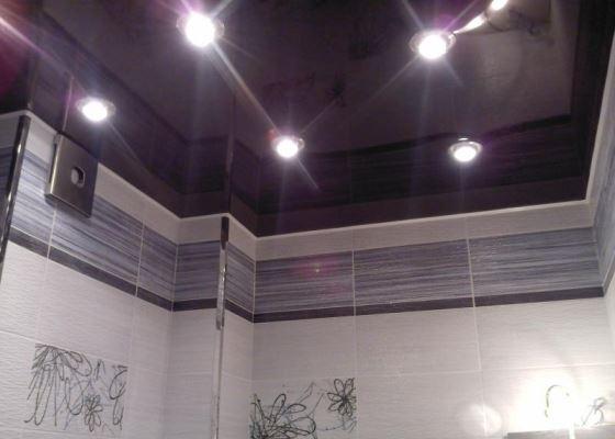 Какой потолок лучше в ванной?