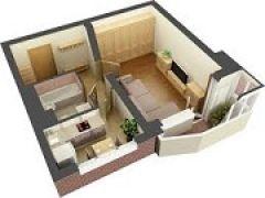 Хитрости планировки. Как сделать однокомнатную квартиру комфортной