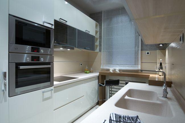 Чем дополнить белую кухню?