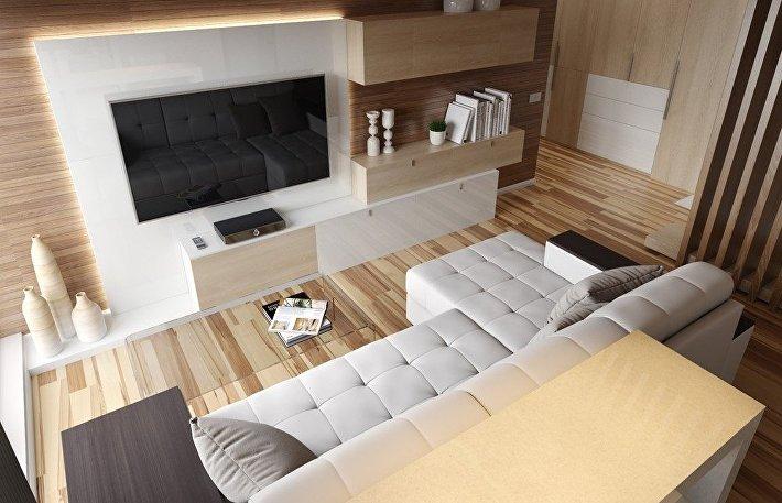 Как выбрать мебельный комплект под телевизор в гостиную