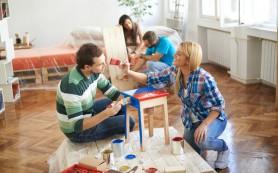 Как быстро сделать косметический ремонт в съемной квартире