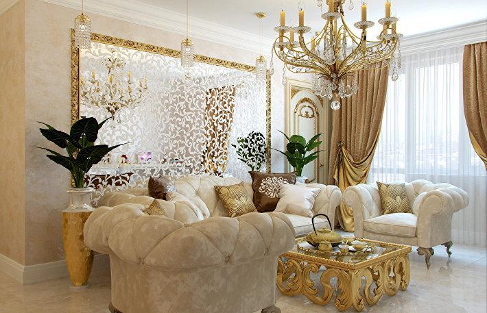 Золотая лихорадка: 8 правил декорирования интерьера золотом