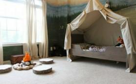 12 Идей оформления детской с лесными мотивами