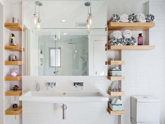 Как правильно организовать систему хранения в ванной: 7 советов