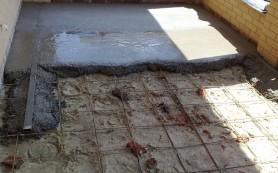 Бетонный пол по грунту: пошаговая инструкция