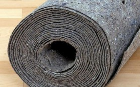Подложка под линолеум на бетонный пол: выбор и укладка