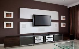 Наш медиацентр: размещаем телевизор красиво