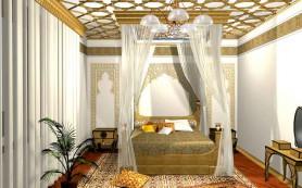 Как сделать дизайн спальни в восточном стиле?