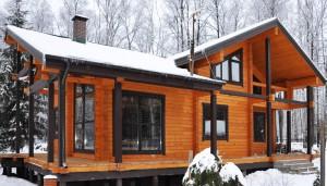 Деревянные дачные постройки