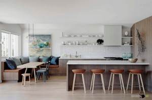 Уголок столовой на кухне