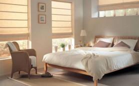 Выбираем короткие шторы для спальни