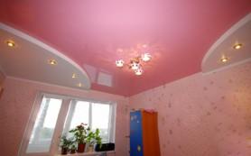 Выбор натяжных потолков для детской комнаты