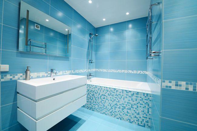 Правильная укладка плитки в ванной