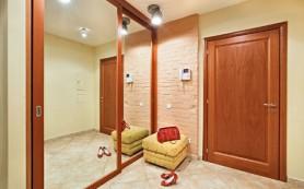 Зонирование пространства в комнате с помощью раздвижных перегородок