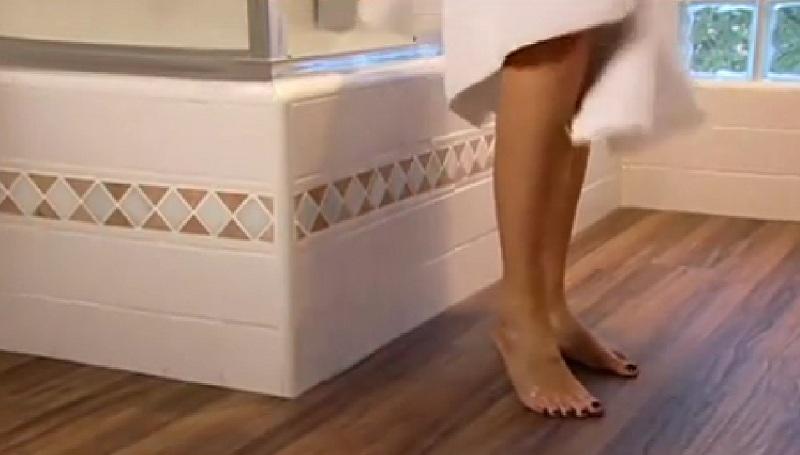 Ламинат для ванной. Правила выбора