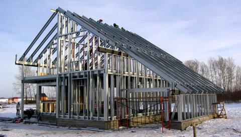 Преимущества строительства каркасного дома под ключ недорого