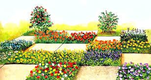 Цветник между небом и землей