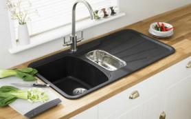 Кухонная мойка: как выбрать материал и тип установки