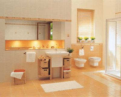 Ремонт ванной комнаты: использование плитки