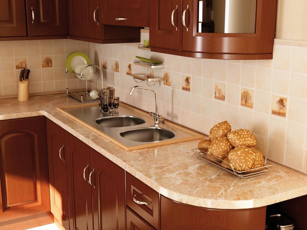 Как подобрать кафельную плитку в кухню?