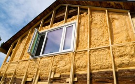 Утепление фасадов жилых зданий — негорючие утеплители
