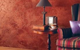 Красивый дизайн стен с декоративной штукатуркой