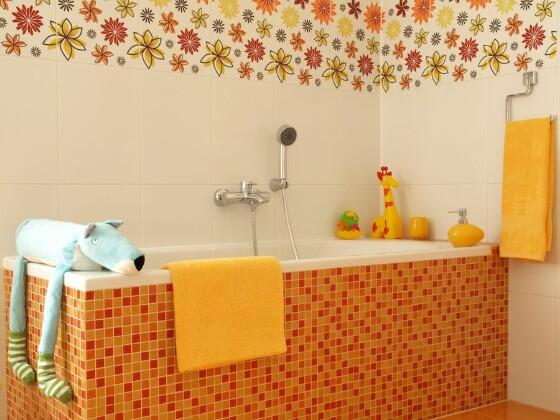 Использование плитки в дизайне помещения