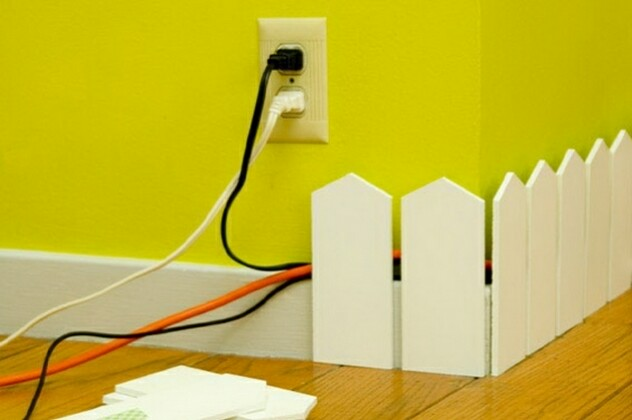 17 способов замаскировать провода