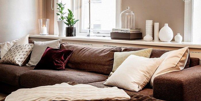 Впишется ли секционный диван в небольшое пространство?