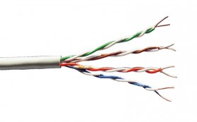 Сетевые кабели. Витая пара Cat5 или Cat6