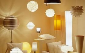 Как расположить светильники в гостиной