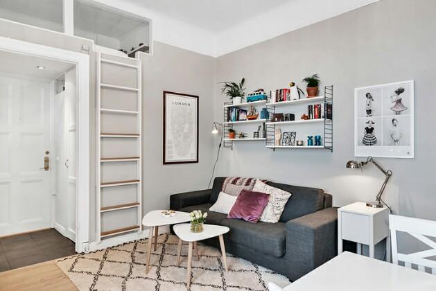 Если у вас маленькая квартира: 9 практичных приемов по обустройству