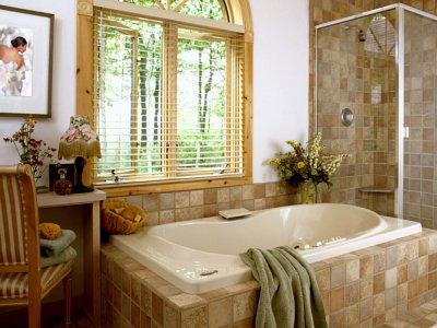 Материалы, которыми можно отделать стены в ванной комнате