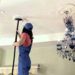 Уход за подвесными потолками - чем мыть, чистка, покраска