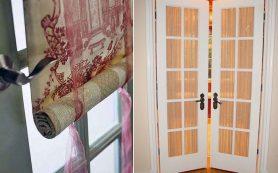 Шторы в дверном проеме: декор или хитрость?