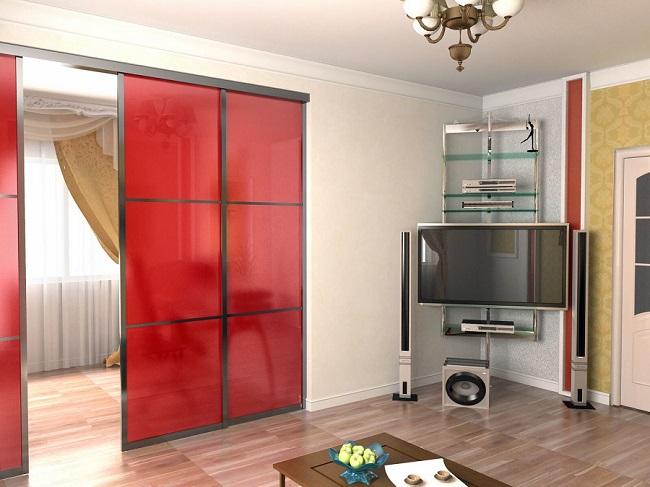 Экономим пространство — устанавливаем раздвижные межкомнатные двери