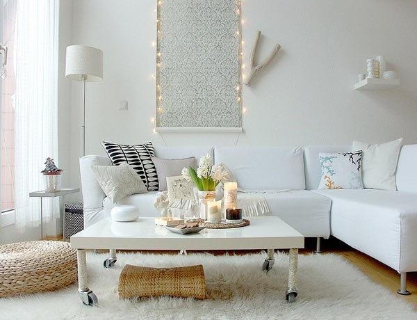 Как сделать стильный интерьер в маленькой гостиной?