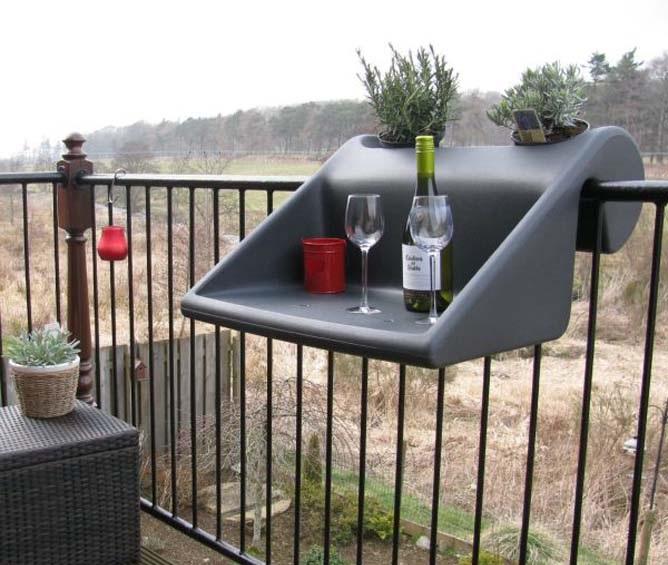 Как сделать зону отдыха на балконе?