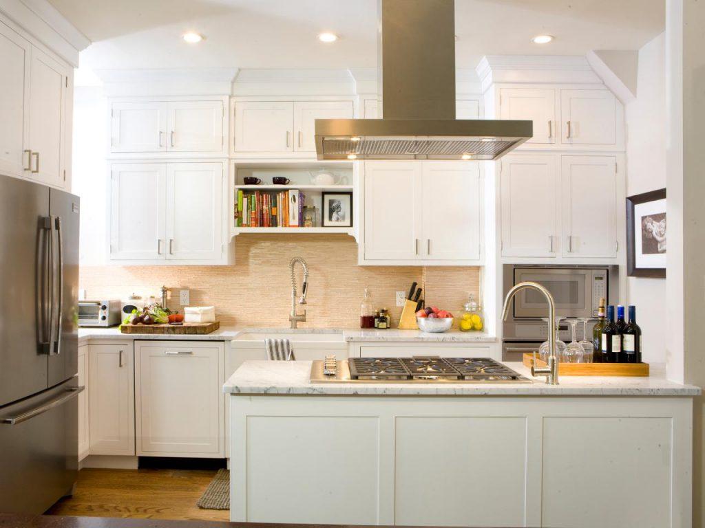 Как выбрать мебель и оборудование для белой кухни