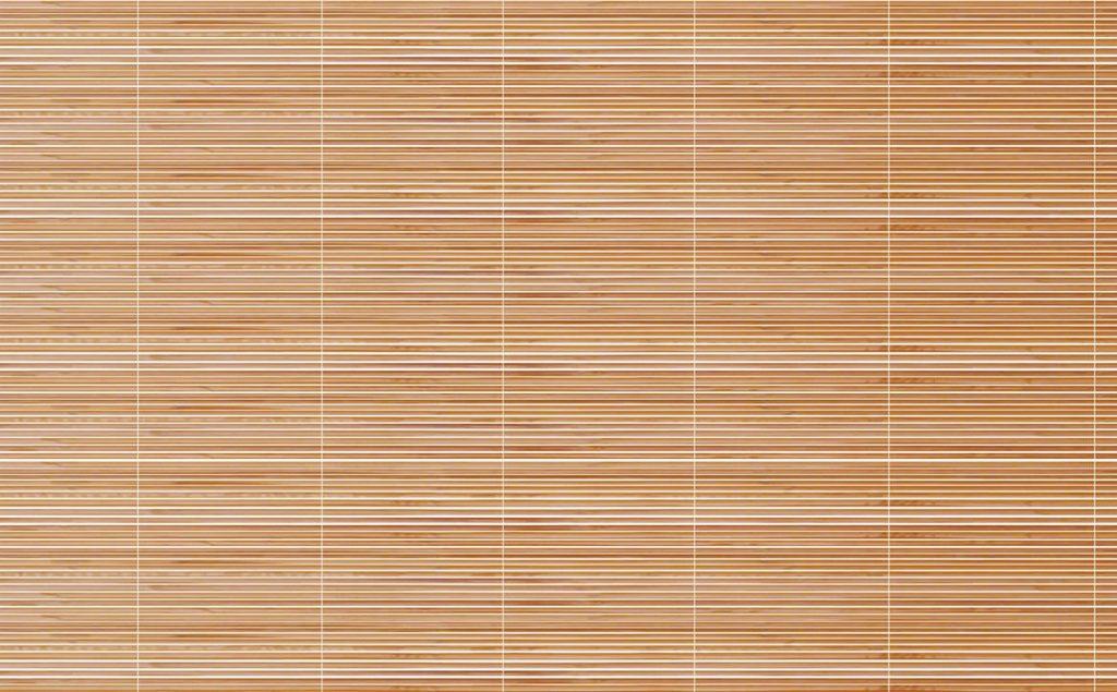 Клеим бамбуковые обои в комнате