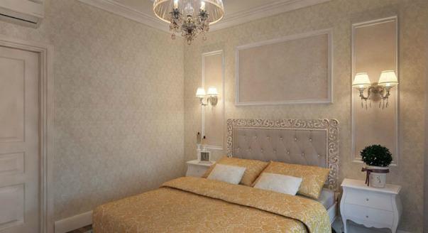Как грамотно использовать лепнину в интерьере спальни?